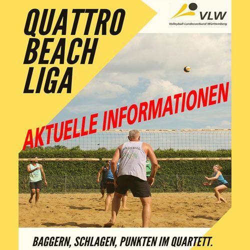 Aktuelle Informationen zur VLW-Quattro Beach Liga